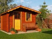 Zahradní domek Cindy 28mm 300x250 Ekonomik