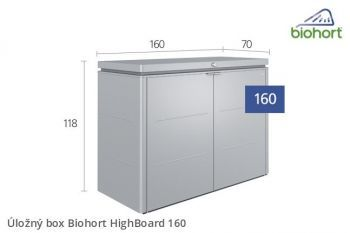 Úložný box HighBoard 160 - Biohort
